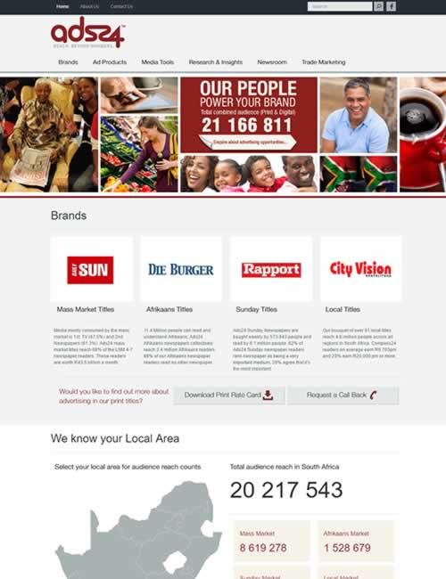 ads24 Wordpress Website Design