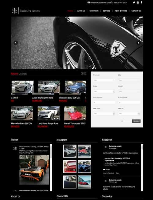 Exclusive Assets Wordpress Website Design