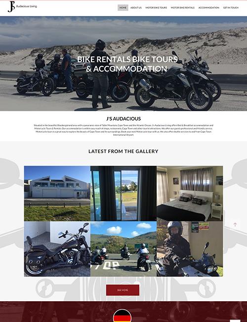 JS Audacious Living Wordpress Website Design